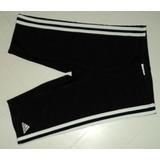Traje De Baño Masculino Negro adidas Con Rayas Blancas