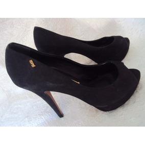 Sapato Meia Pata Preto Feminino Santa Lola Tamanho 36 S2