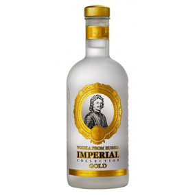 Vodka Ruso Marca Imperial 750 Mls.