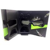 Oculos 3d Nvidia Vision 1 C/ Receptor Mostruário De Loja