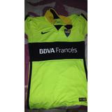 Camiseta De Boca Juniors Flúor Original, Sin Uso