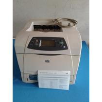 Impresora Hp Lj 4250n Con Cable Y Toner Envio Gratis