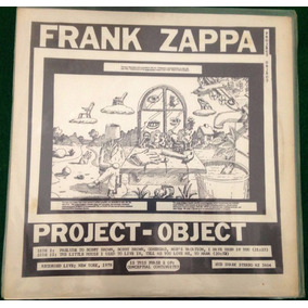 Lp Frank Zappa Project Object Live In New York 1978 Raridade