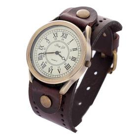 Kit 2 Relógios De Quartzo Analógico Relógio Do Punk Unisex