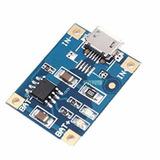 Usb Micro Tp4056 18650 Módulo De Carga De Batería De Litio