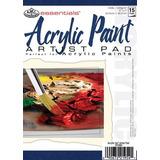 Pintura Acrílica Essentials Paper Pad 5 X7 -17 Hojas