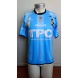 Camiseta Coquimbo Unido 2014 Recambio Cuello Negro Uhlsport