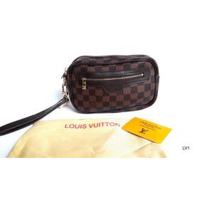Sobaquera Neceser Hand Bag Louis Vuitton Lv Monogram Premium