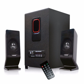 Minicomponente X-bass 2.1 Bluetooth/usb/sd/fm/control