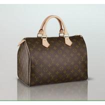 Bolso. Cartera Speedy 30. Louis Vuitton Para Dama. Elegante