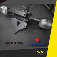 Portapatente Fender Rebatible Stg Suzuki 750 K7