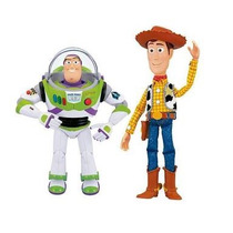 Toy Story Buzz Lighyear Y Woody Intetactivos Hablan Español