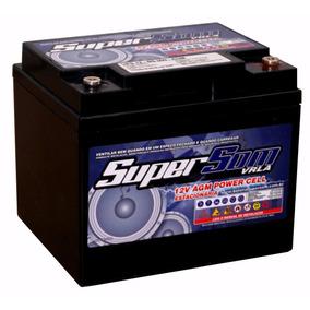 Bateria Gel 60 Ah Super Som Usina Grid Agm Vrla 12v