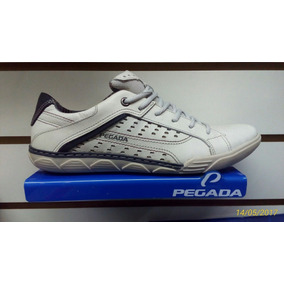 Sapatenis Pegada Couro 15301-01 15301-08 Azul Ou Branco 57de1574f5b