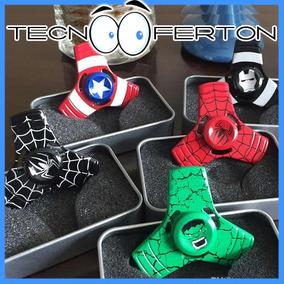 Fidget Spinner Metal Avengers Hulk Iron Man Spider Capitan A