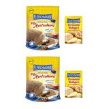 Mistura Para Pão Australiano Fleischmann 450g - Kit C/2