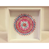 Cuadro Frases Decorativo Mandala Colorido