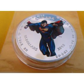 Linda Moeda Comemorativa Superman