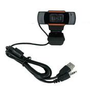 Cámara Web Hügel Pc Usb Miniplug Hd 720p Micrófono Cuota