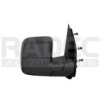 Espejo Ford Econoline Van 2002-2003 Manual Doble Luna Negro
