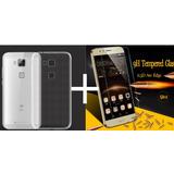 Kit Protector Huawei G8 Silicona G8 + Templado G8