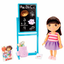 Boneca Dora Aventureira - Hora Da Escolinha - Mattel Bgv59