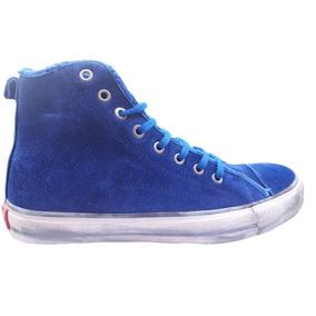 Zapatillas Satori De Hombre Botitas Azul