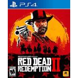 Red Dead Redeption 2 Ps4 Nuevo Original Domicilio