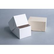 Caja Multiuso Chica 15,5x10,5x9 Cm (x 50 U.) Porciones Individuales Sandwiches Bauletto
