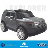 Vehículo A Batería Para Niños   Ford Explorer