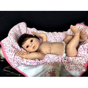 Boneca Artesanato Reborn De Coropo Inteiro ( Indra )