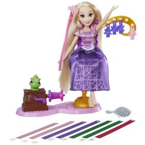 Boneca Princesas Disney - Cabelos Mágicos - Rapunzel - Hasbr