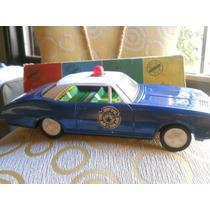 Antiguo Gorgo Camaro 380 Policial A Friccion