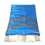 Saco De Dormir Casal Kuple Nautika Azul