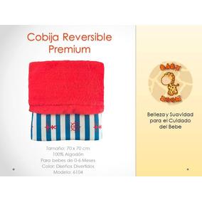 Cobija Reversible Premium Para Bebe