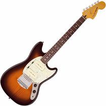 Guitarra Fender Mustang Mexicana Modern Player Honey Burst