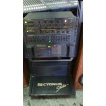 Som Completo Em Rack Cygnus Original - Raridade