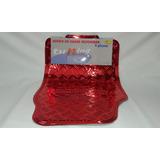 Cubre Alfombras Goma Auto 4 Piezas Universal Rojo Tunning