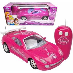 Carro Princesas Disney Carrinho Controle Remoto Rosa Menina