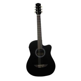 Guitarra Electro-acústica Iplay De 38 Con Resaque Negro