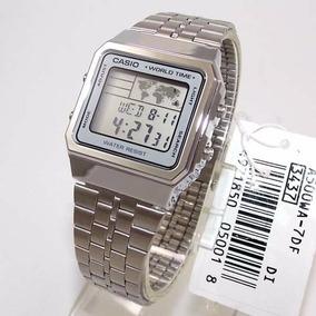 319d51d1673 Rel Gio Casio Vintage Modelo A500wa 7df - Relógios De Pulso no ...