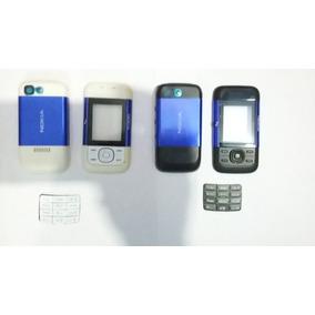 Carcasa Nokia 5300 Y 5200 Color Negro/blanco