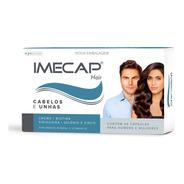 Imecap Hair 60 Cápsulas Estimula O Crescimento Capilar X