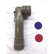 Linterna Acodada Tipo Militar 2pilas D 3colores Original Usa