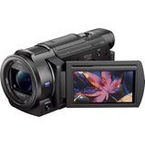 Videocámara Con Memoria Flash Sony Handycam Ax33 4k / Negro