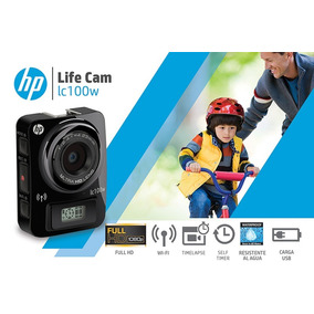 Camara Deportiva Hp Go Action Pro Lc100w Sumergible C/acces!
