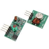 Módulo Rf Transmissor + Receptor 433mhz Am !!! Arduino !!!