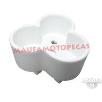 Baú Para Transportar Galão De Água Em Moto/branco + Suporte