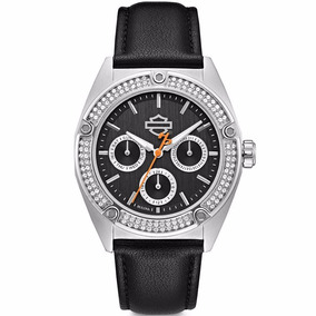 Reloj Harley Davidson Con Cristales Swarovski 76n102 E-watch