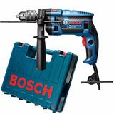 Furadeira Impacto Gsb 16 Re Prof 750w+maleta Bosch 220ou110v